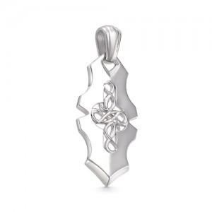 Подвеска мужская из серебра 925 арт. 33-00-068