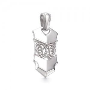 Подвеска мужская из серебра 925 арт. 33-00-070