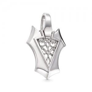 Подвеска мужская из серебра 925 арт. 33-00-072