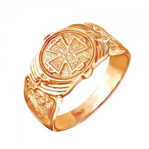 Кольцо из красного золота 585 пробы арт. 100-1-340
