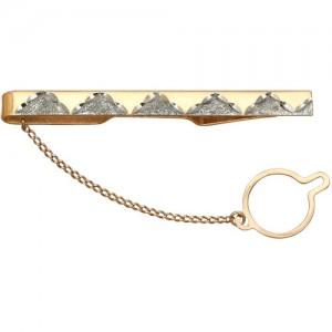 Зажим для галстука из золота 585 пробы
