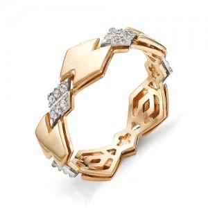 Кольцо из красного золота 585 пробы арт. 11-02-293