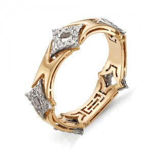 Кольцо из красного золота 585 пробы арт. 11-02-295