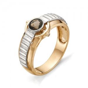 Перстень из красного  золота 585 пробы арт. 91-005