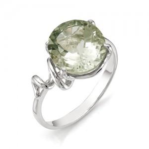 Кольцо из серебра 925 пробы с полудрагоценными камнями арт. 13-17-201