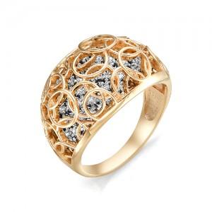 Кольцо из красного золота 585 пробы  арт. 11-02-353