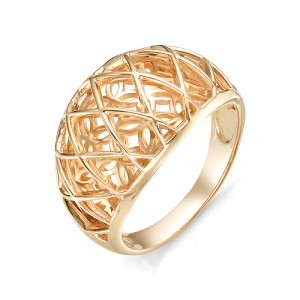 Кольцо из красного золота 585 пробы  арт. 11-00-350-0