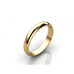 Обручальное кольцо из золота 585 пробы арт. 300-001