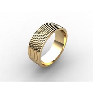 Обручальное кольцо из золота 585 пробы арт. 300-002