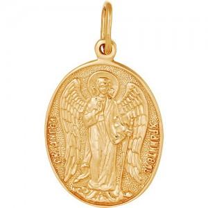 Подвеска из красного золота 585 пробы арт. 300-1-507