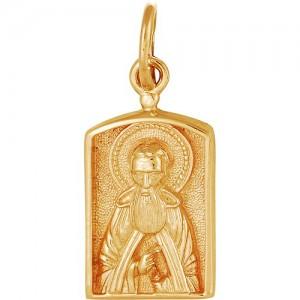 Подвеска из красного золота 585 пробы арт. 300-1-512