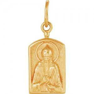 Подвеска из красного золота 585 пробы арт. 300-1-513
