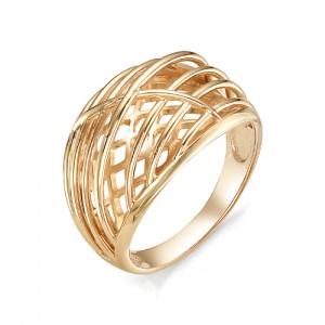 Кольцо из красного золота 585 пробы  арт. 11-00-351-0