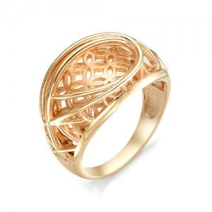 Кольцо из красного золота 585 пробы  арт. 11-00-352-0