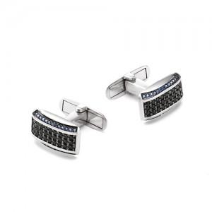 Запонки мужские из серебра 925 арт. 63-02-058