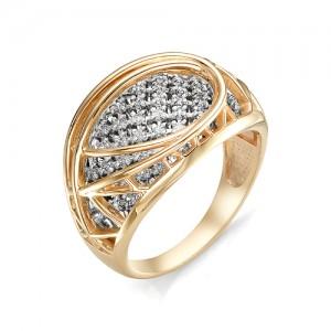 Кольцо из красного золота 585 пробы  арт. 11-02-352