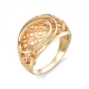 Кольцо из красного золота 585 пробы  арт. 11-00-355-0