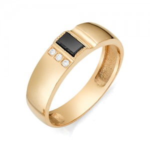 Мужское кольцо из золота 585 пробы арт. 91-02-502