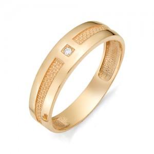 Мужское кольцо из золота 585 пробы арт. 91-02-512