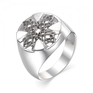Кольцо мужское из серебра 925 арт. 93-00-066