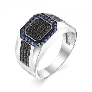 Перстень мужской из серебра 925 арт. 93-02-052