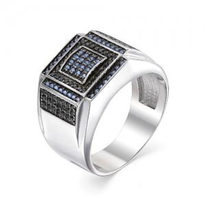 Перстень мужской из серебра 925 арт. 93-02-059