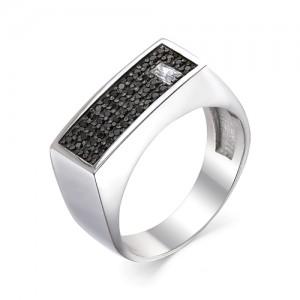 Перстень мужской из серебра 925 арт. 93-02-061
