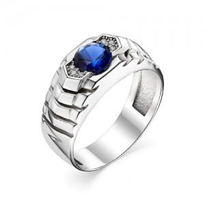 Перстень из серебра 925 пробы с кварцем арт. 93-02-205