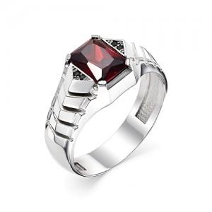 Перстень из серебра 925 пробы с кварцем арт. 93-02-211