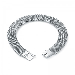 "Цепь ""Сетка"" из серебра 925 пробы, арт. 83-00-121"