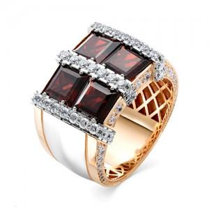 Мужской перстень из золота 585 пробы арт. 91-009