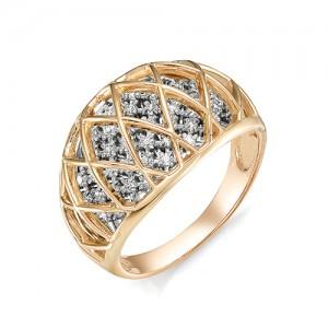 Кольцо из красного золота 585 пробы  арт. 11-02-350