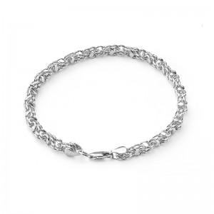 """Цепь """"Кавай"""" из серебра 925 пробы, арт. 83-00-108"""