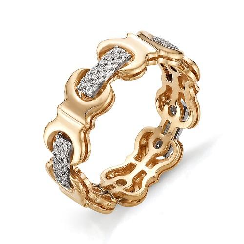 Кольцо из красного золота 585 пробы арт. 11-02-297