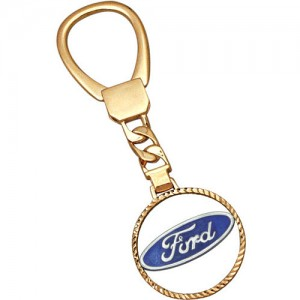 Брелок Форд из золота 585 пробы арт. 002-1-032