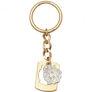 Брелок Тигр из золота 585 пробы арт. 008-1-579