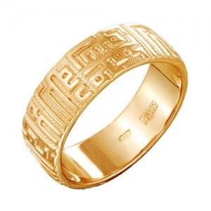 Кольцо из красного золота 585 пробы арт. 100-1-298
