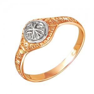 Кольцо из красного золота 585 пробы арт. 100-1-342Р