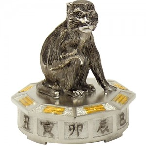 "Серебряная статуэтка -год ""Обезьяны"", арт. 1007-05-00507"
