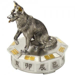 """Серебряная статуэтка -год """"Собаки"""", арт. 1007-05-00511"""