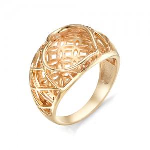Кольцо из красного золота 585 пробы  арт. 11-00-354-0