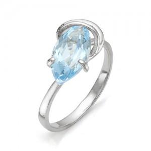 Кольцо из серебра 925 пробы с полудрагоценными камнями арт. 13-10-204