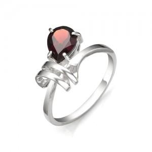 Кольцо из серебра 925 пробы с полудрагоценными камнями арт. 13-11-154