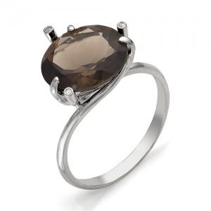Кольцо из серебра 925 пробы с полудрагоценными камнями арт. 13-14-060