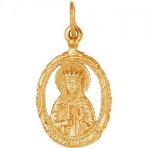 Подвеска из красного золота 585 пробы арт. 300-1-506