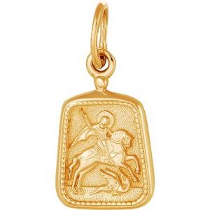 Подвеска из красного золота 585 пробы арт. 300-1-508