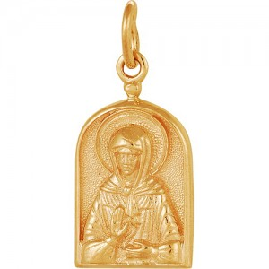 Подвеска из красного золота 585 пробы арт. 300-1-515