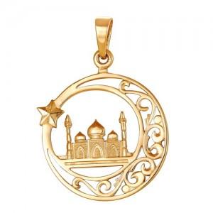 Подвеска из красного золота 585 пробы арт. 300-1-583