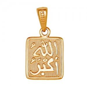 Подвеска из красного золота 585 пробы арт. 300-1-604