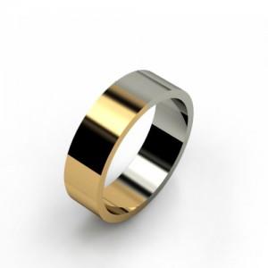 Обручальное кольцо из золота 585 пробы арт. 300-029